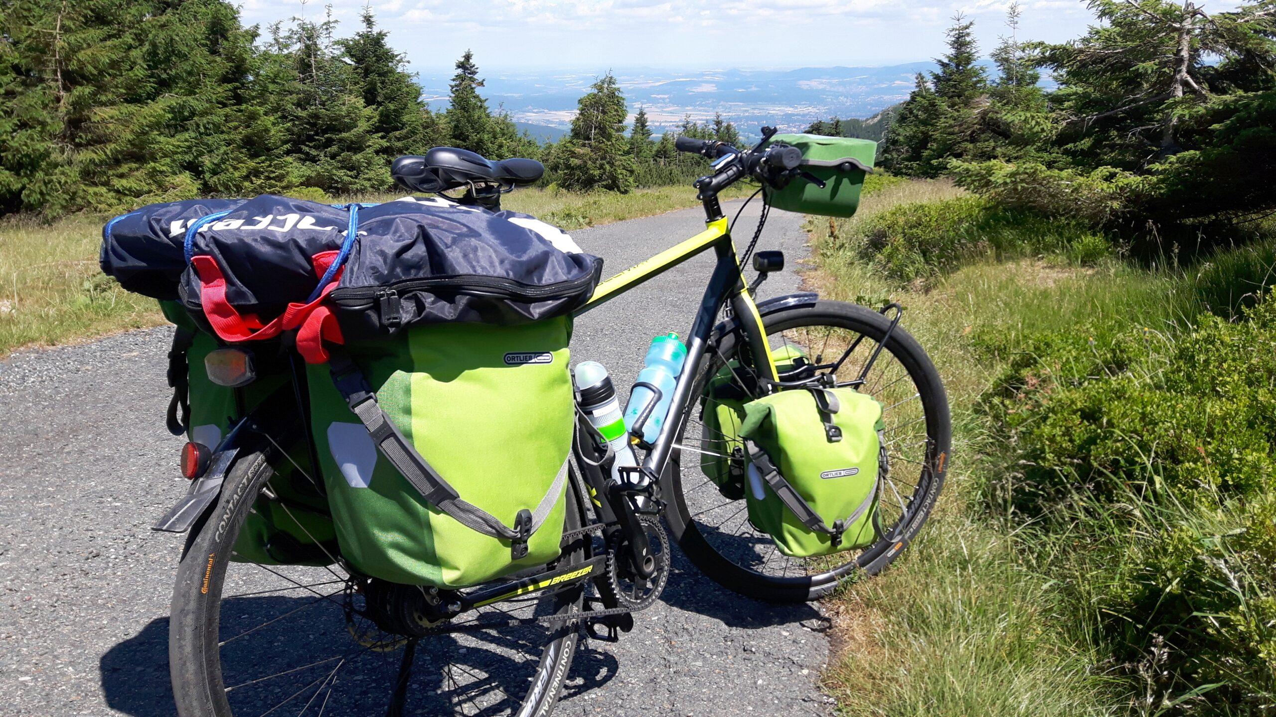 Przełęcz Karkonoska, rowerem po polsce, wyprawa rowerowa