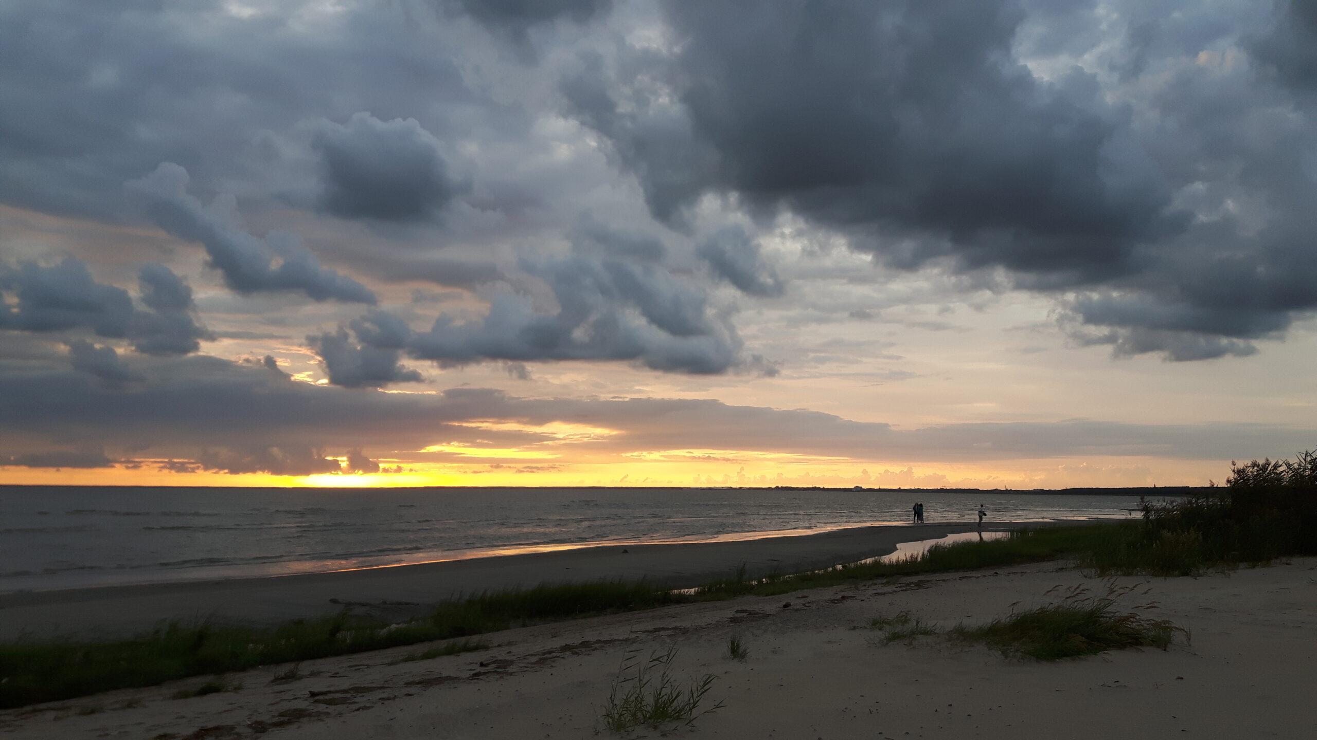 Trasa rowerowa nad morzem