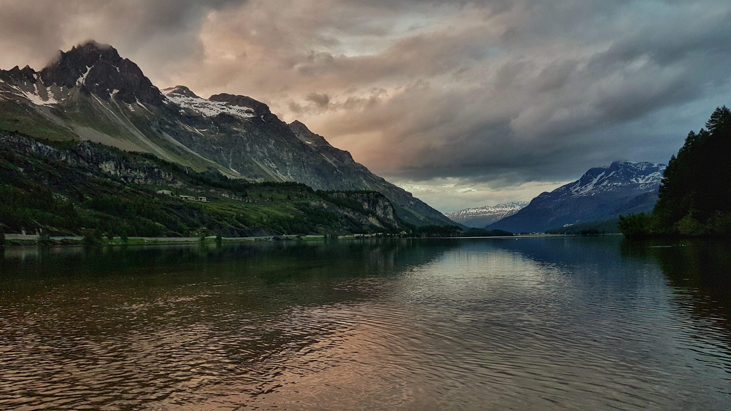 Dolina Engadyny Szwajcaria