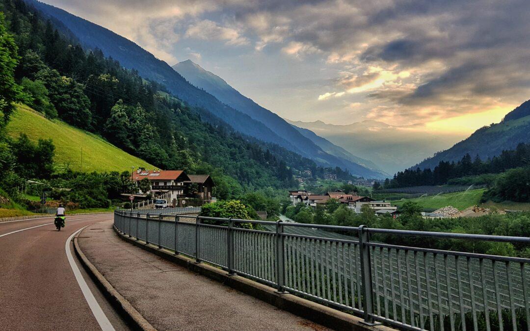 Wyprawa rowerowa przez Alpy