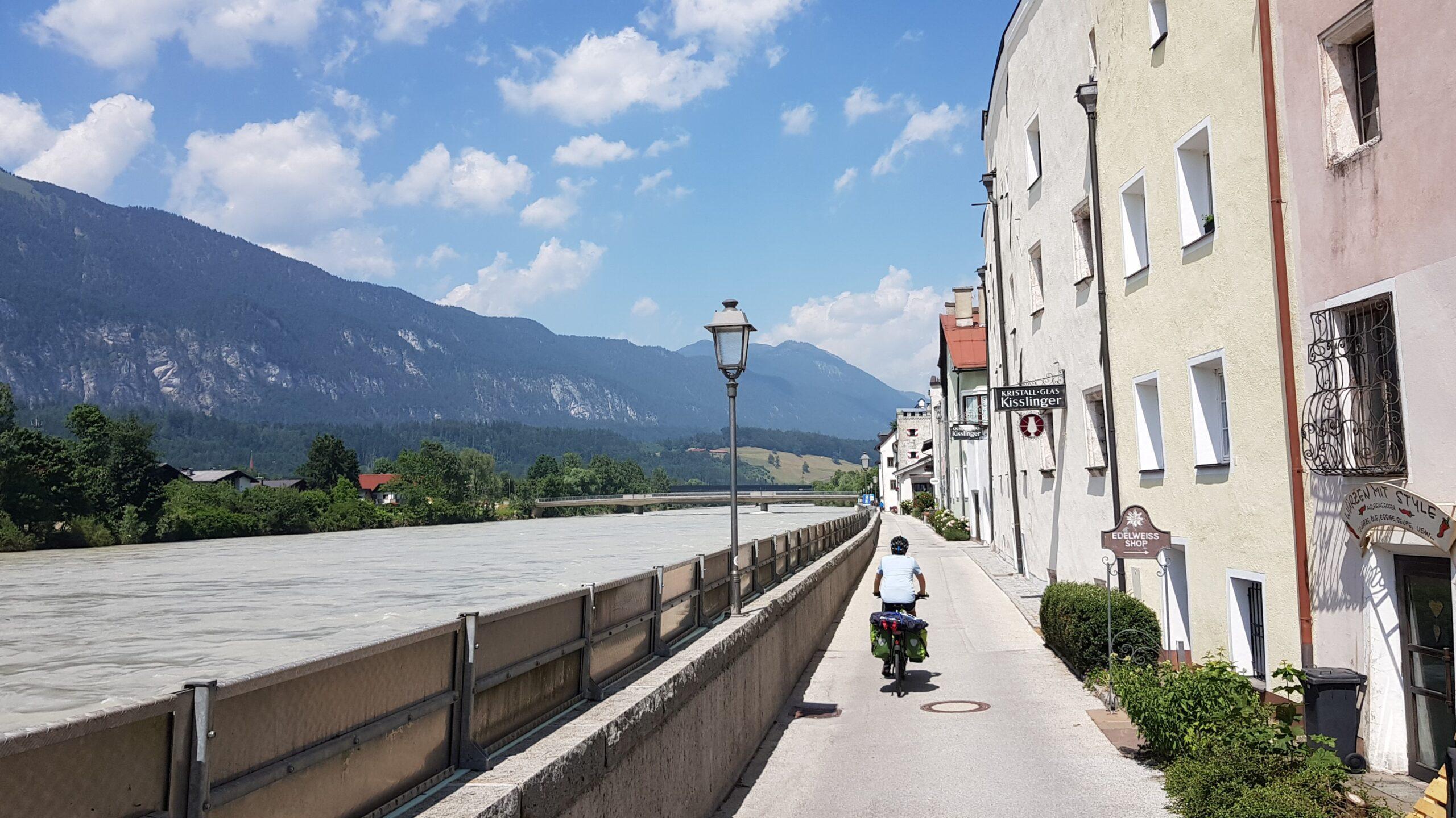 Rowerem przez Austrię, wyprawy rowerowe wzdłuż rzek