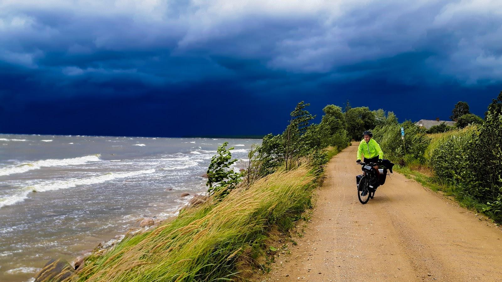 Trasa rowerowa R10, Wyprawa rowerowa wokół Bałtyku