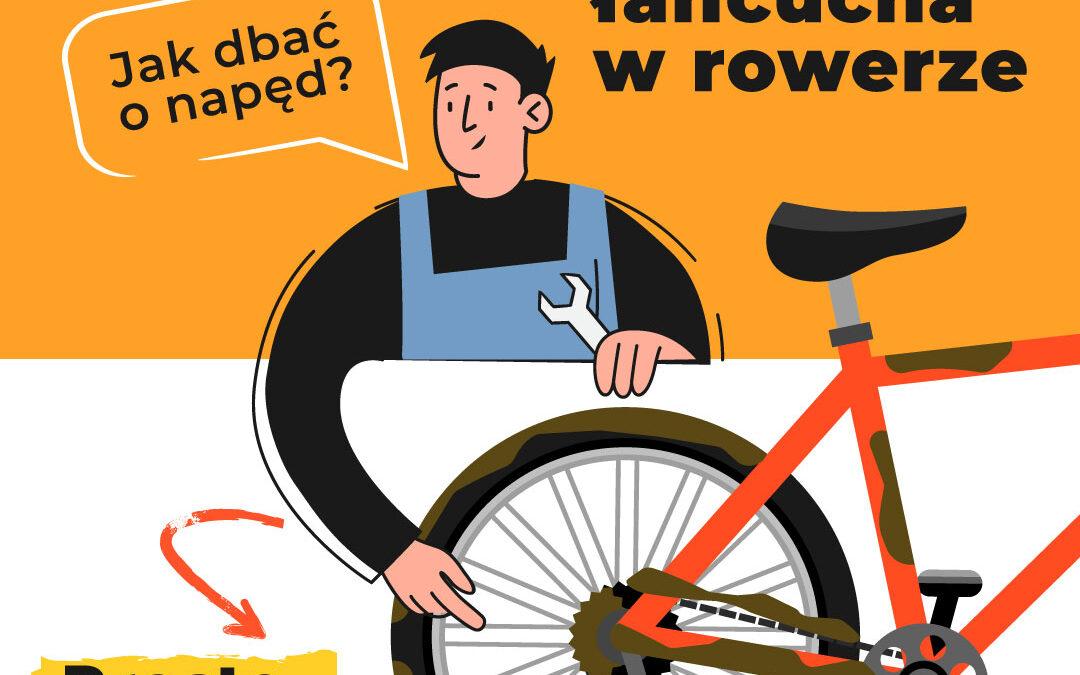 Jak wyczyścić łańcuch rowerowy?