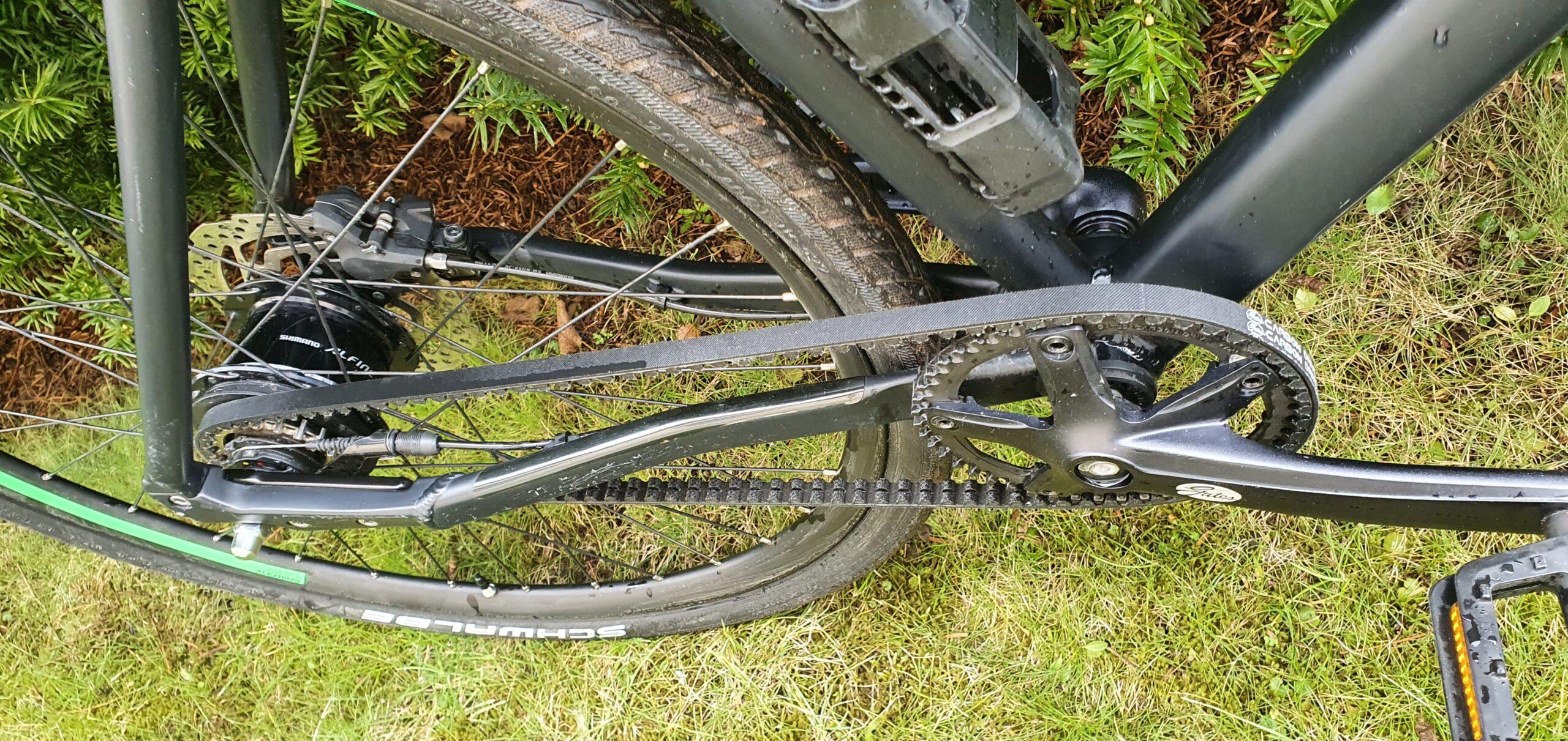 pasek zebaty, rowery z paskiem napędowym
