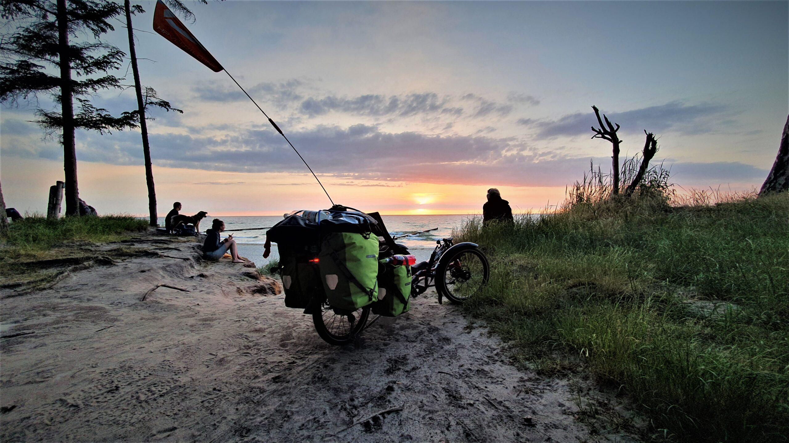 wyprawa rowerowa ile km dziennie, Wyprawa rowerowa Niemcy-Dania-Szwecja na trajce!