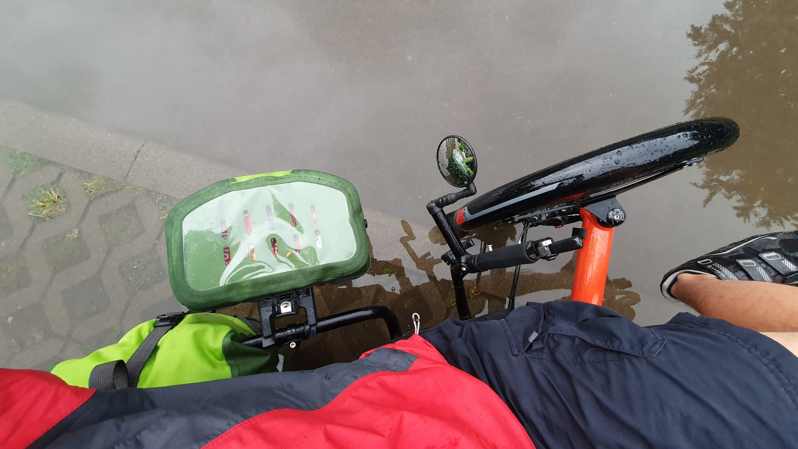 Poziomka, rower trójkołowy, Ortlieb