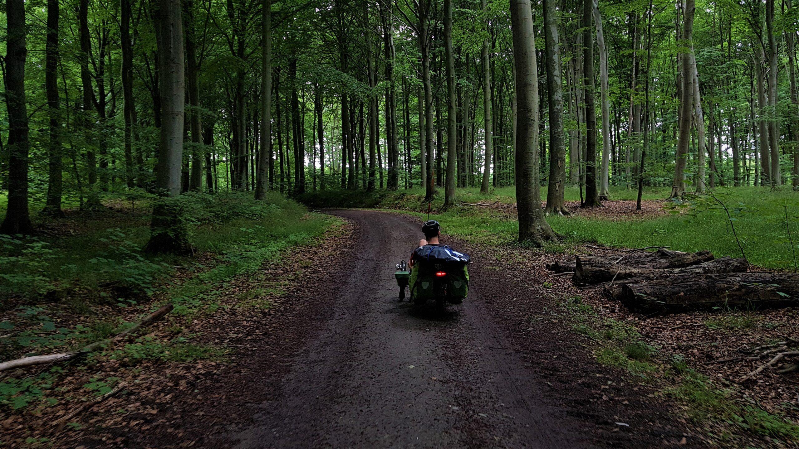 Blog rowerowy, Dania na rowerze
