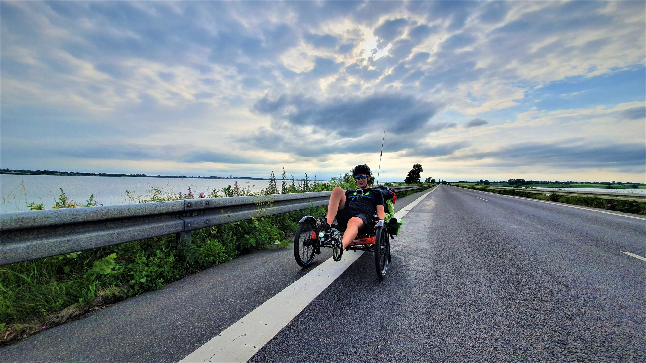 Niemcy, Dania, Szwecja rowerem