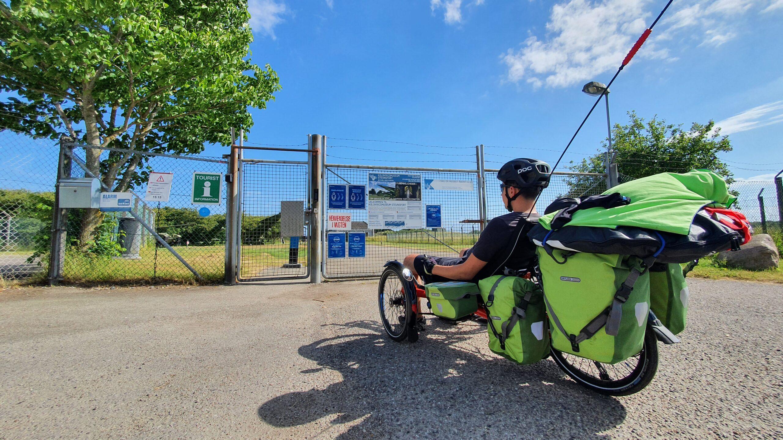 Sakwy Ortlieb, HP Velotechnik Scorpion FX, rowerem przez Danię