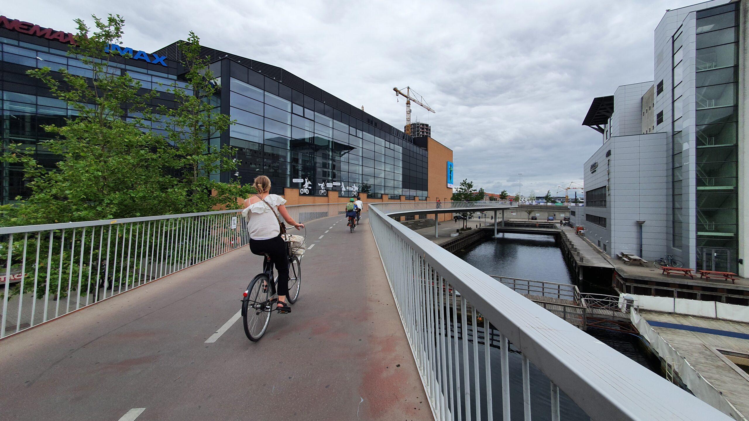 Ścieżka dla rowerów, infrastruktura rowerowa, Zwiedzanie Kopenhagi
