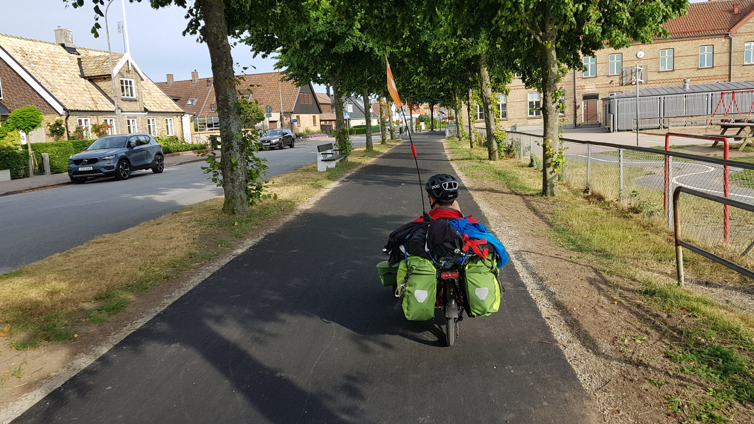 Szwecja na rowerze, rowerem przez Skandynawię, Wyprawa rowerowa Niemcy-Dania-Szwecja na trajce!