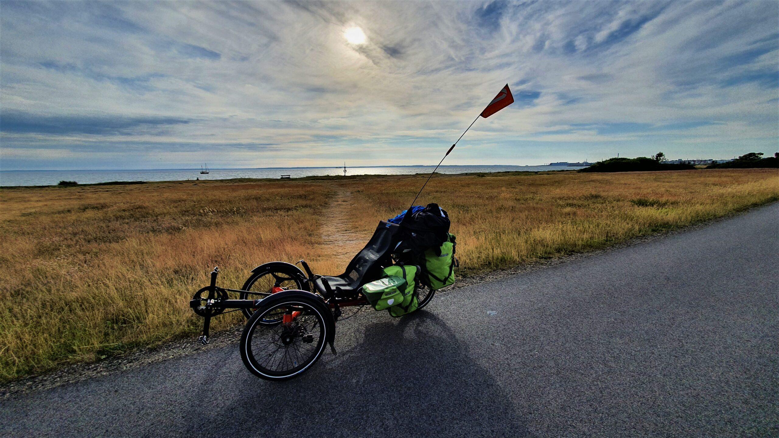 test trójkołowego roweru poziomego, blog o rowerach nietypowych, HP Velotechnik Scorpion FX, Hofrad trikes