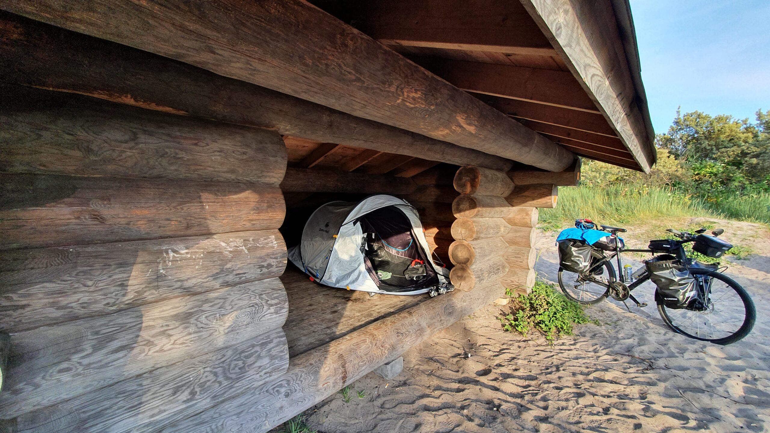 Epic Bicycle rides, Quechua Easy 2 Seconds 2, Wyprawa rowerowa Niemcy-Dania-Szwecja na trajce!