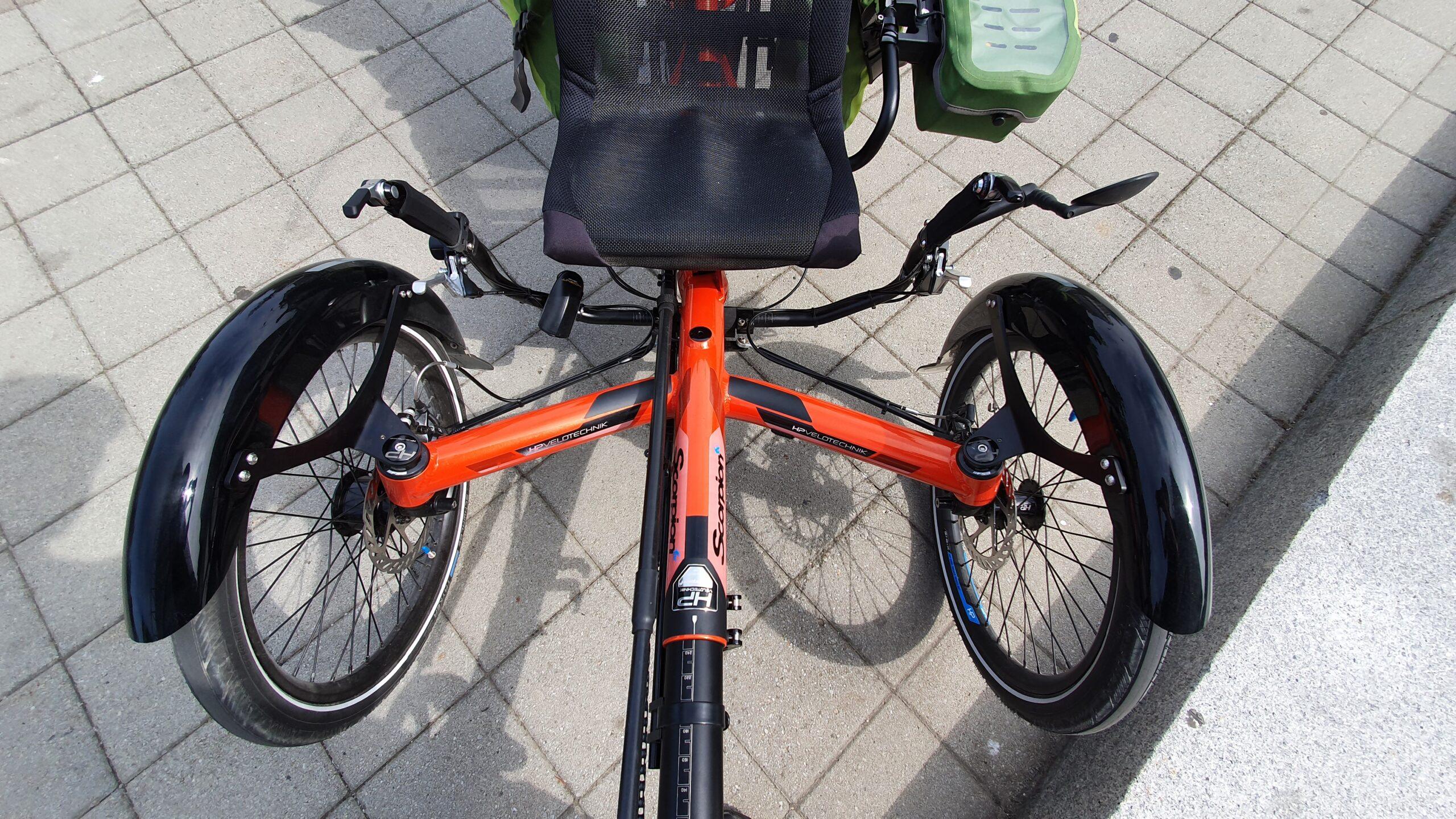 Rower trójkołowy dla dorosłych, hp velotechnik scorpion fx