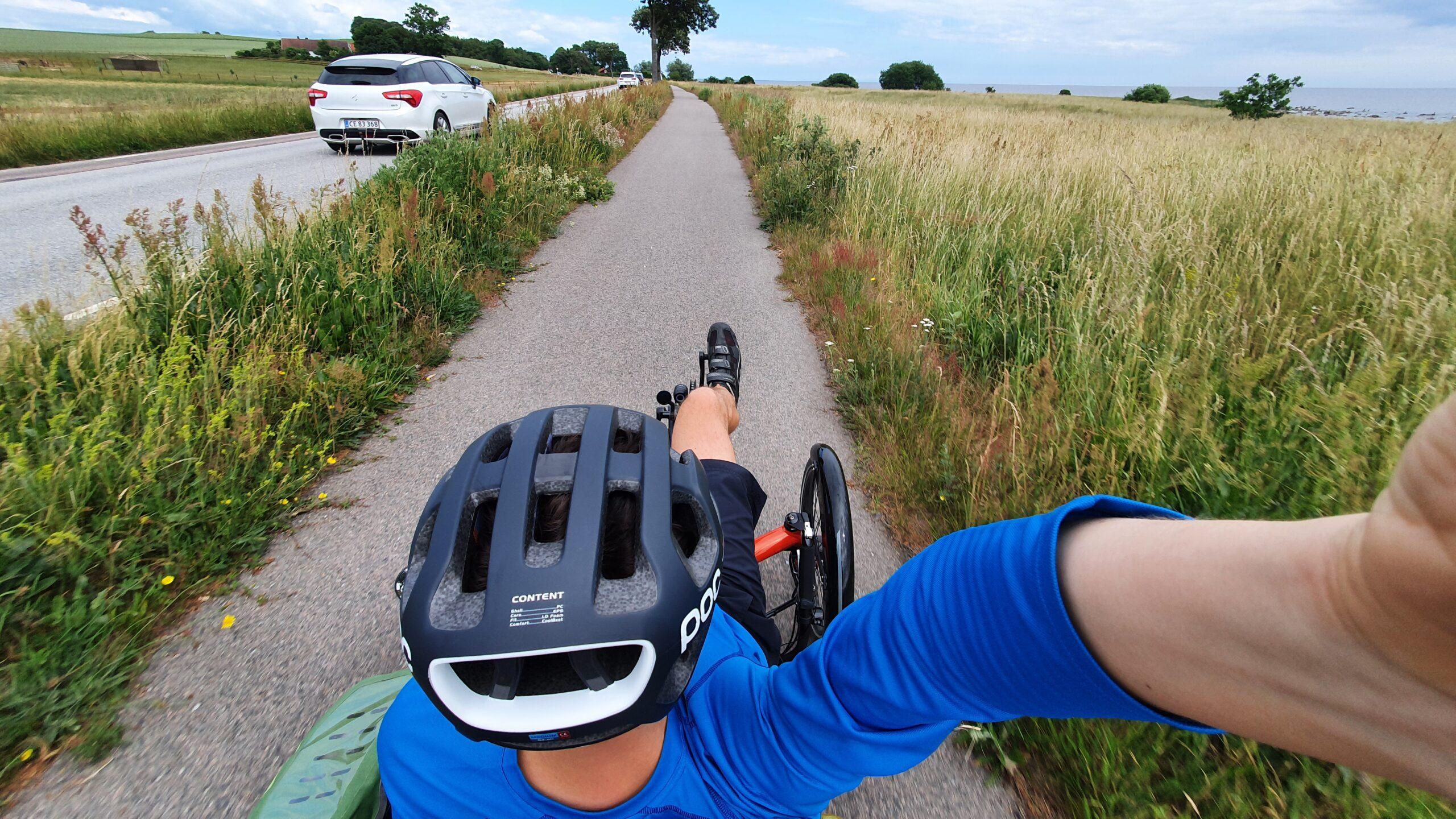 Dania na rowerze, rower trójkołowy dla dorosłych