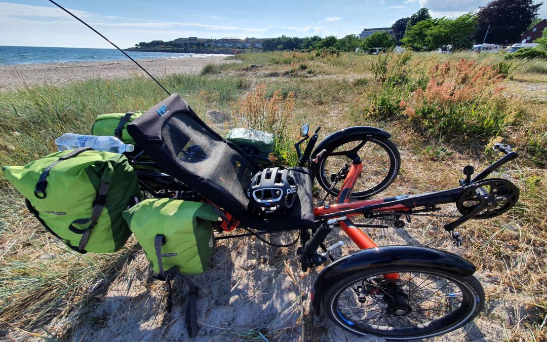 Trójkołowy rower poziomy – test trajki HP Velotechnik Scorpion FX