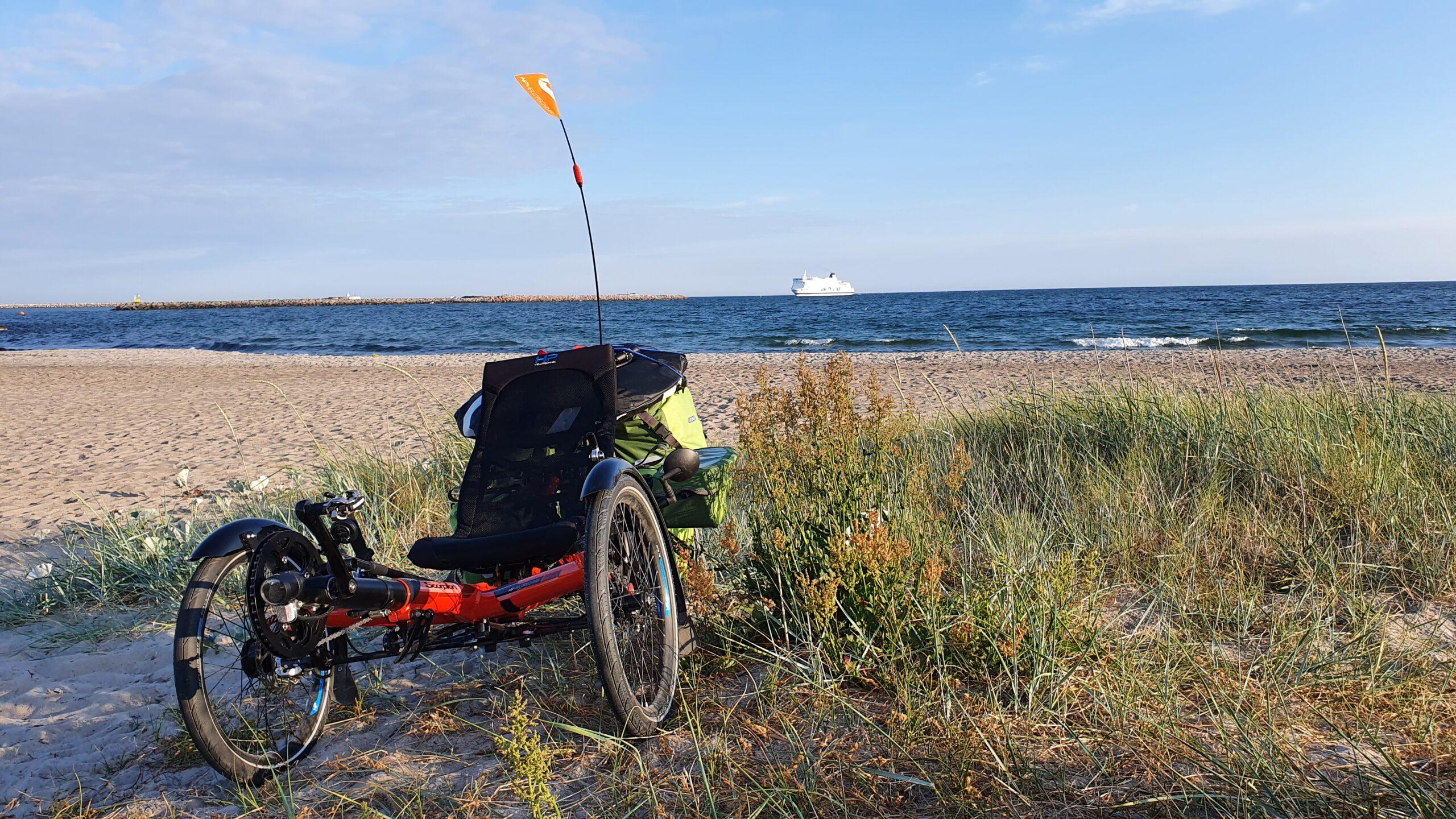 Wyprawa rowerowa, bloger, blog o rowerach, Wyprawa rowerowa Niemcy-Dania-Szwecja na trajce!
