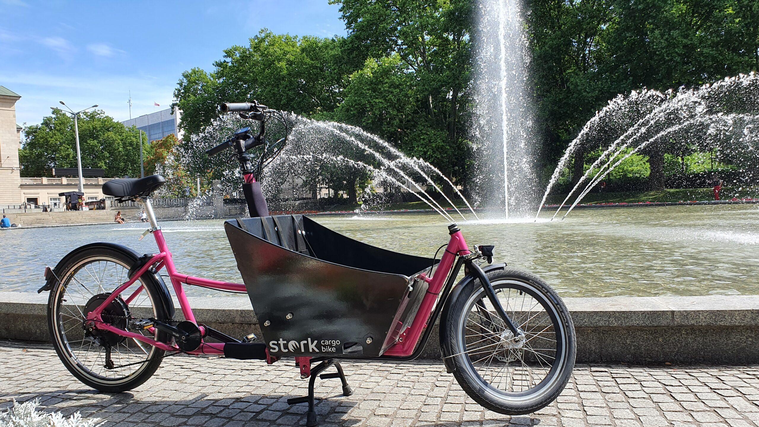Rowery bagażowe, rower elektryczny cargo, rower typu Cargo