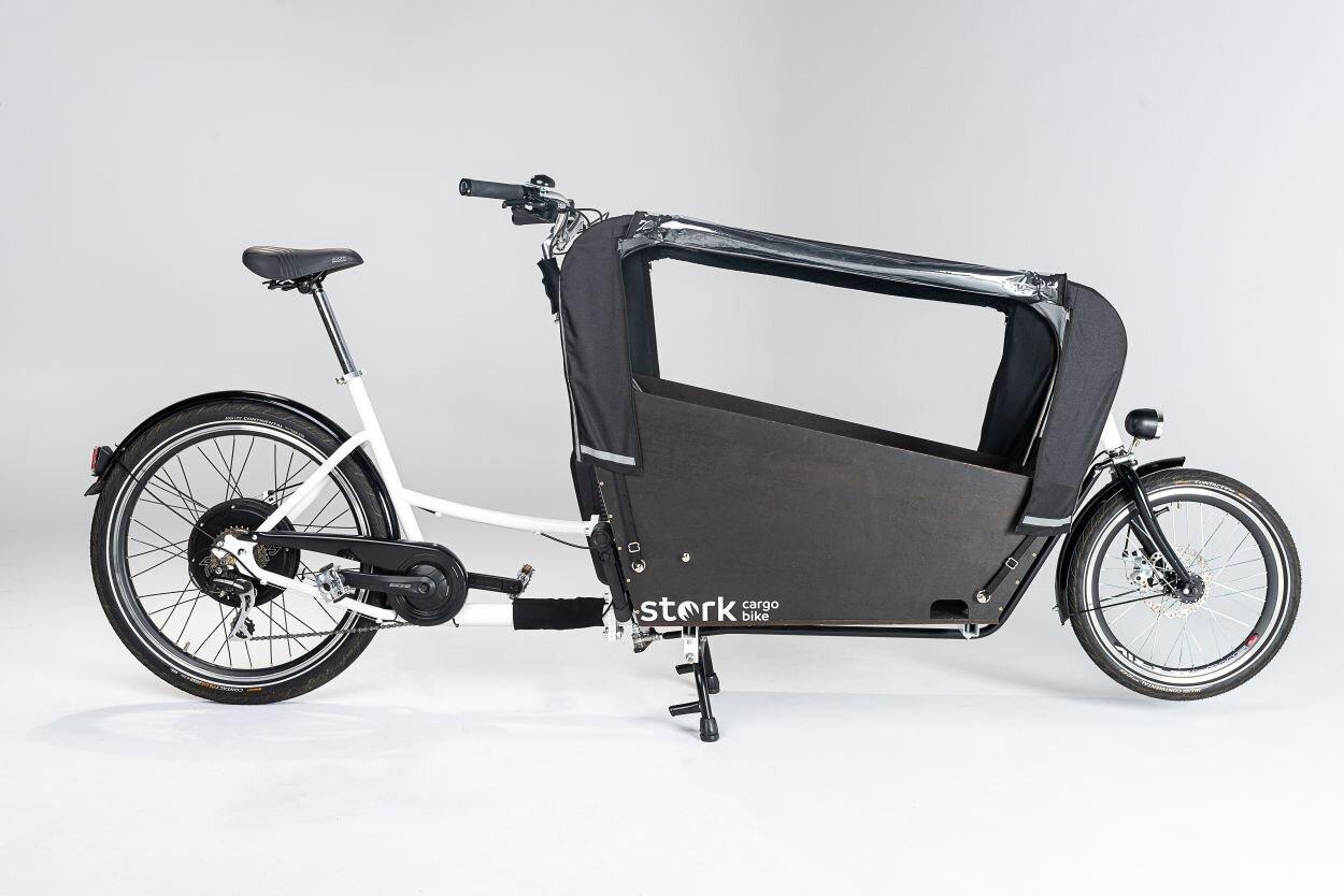 Elektryczny rower Cargo, rower E-Cargo, rower do miasta