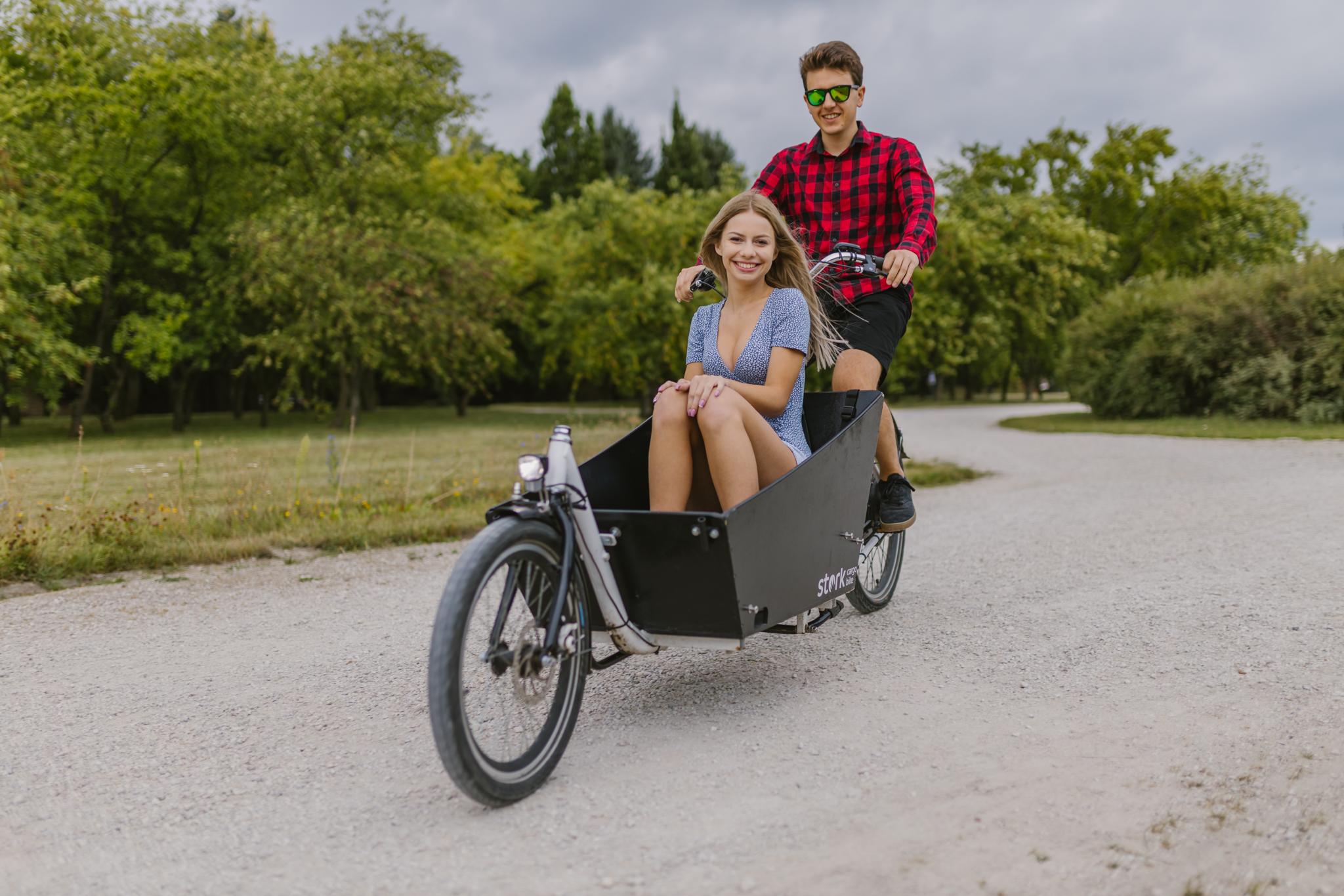 Cargo rower, rower transportowy, rower cargo elektryczny