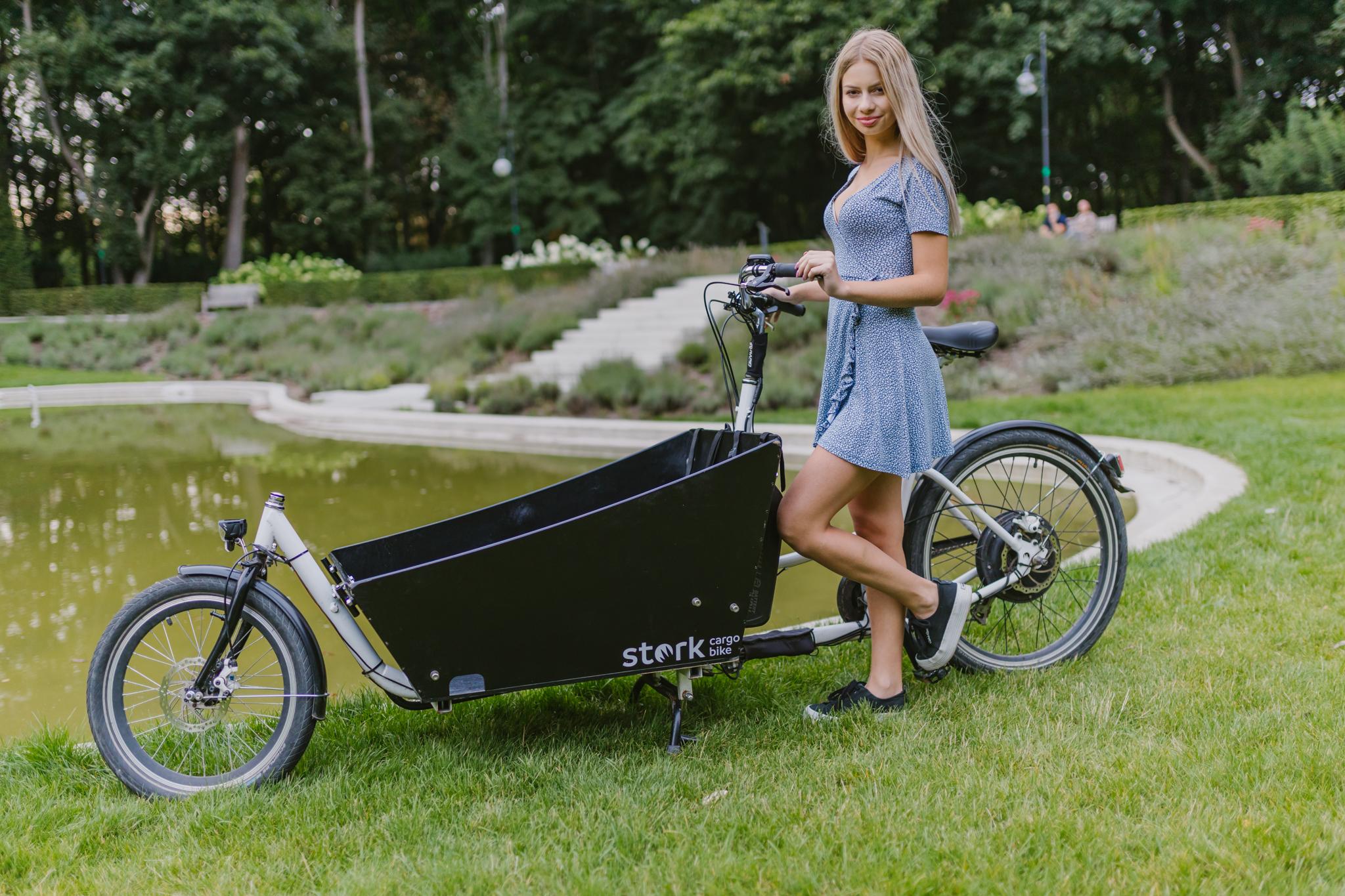 Rowery Cargo w mieście, rower miejski, jaki rower do miasta